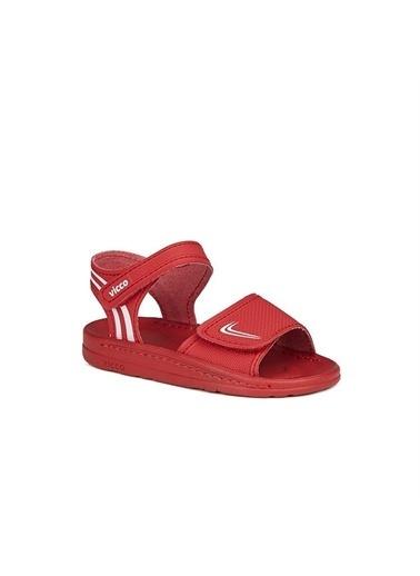Vicco Spor Sandalet Kırmızı